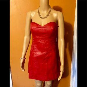 Dress: Red